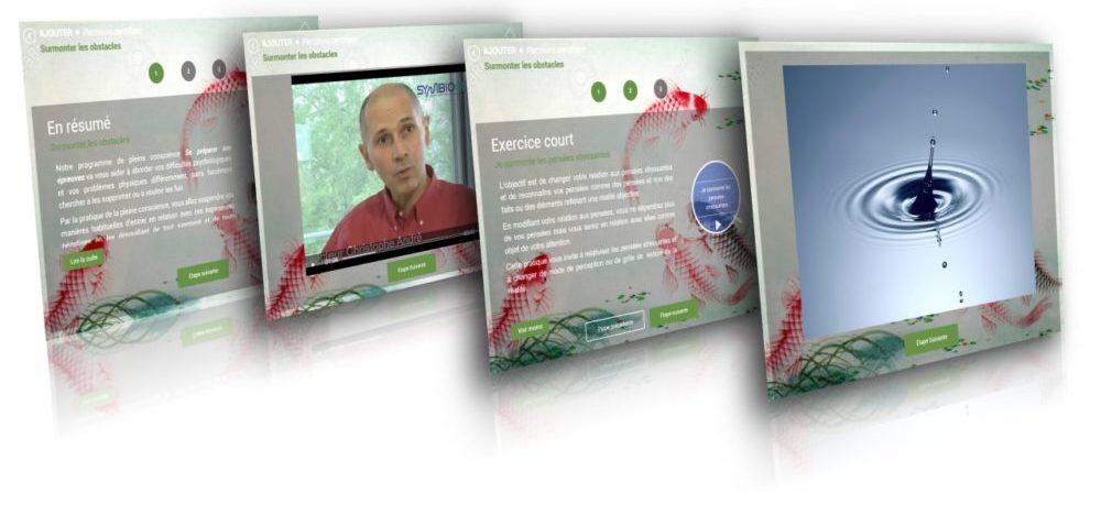 Soft skill pleine présence au travail : écran du SymbioCenter